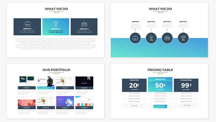 Report Multipurpose PowerPoint Template