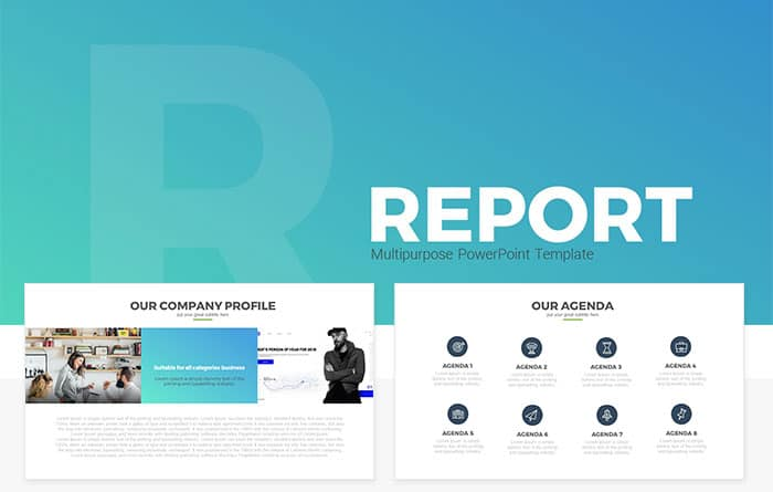 Report multipurpose free powerpoint template slidecompass report multipurpose free powerpoint template toneelgroepblik Gallery