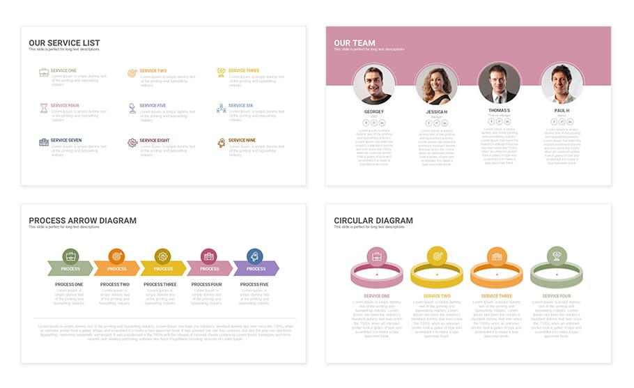 free touch powerpoint presentation template slidecompass