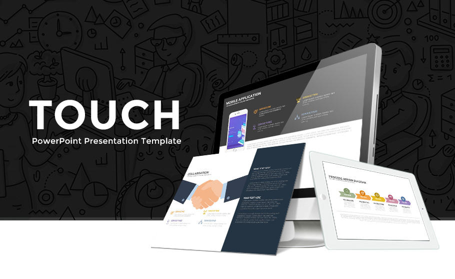 Free Touch Template for PowerPoint Presentation