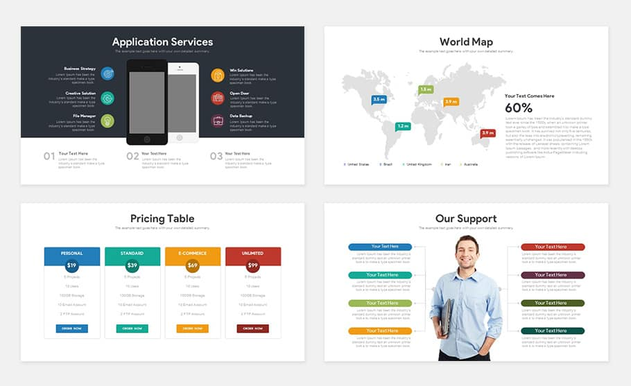 Free Startup Pitch Deck Template For Powerpoint Presentation