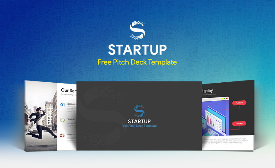 free startup pitch deck template for PowerPoint