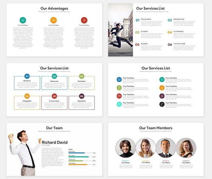 Startup Free Pitch Deck PowerPoint Template