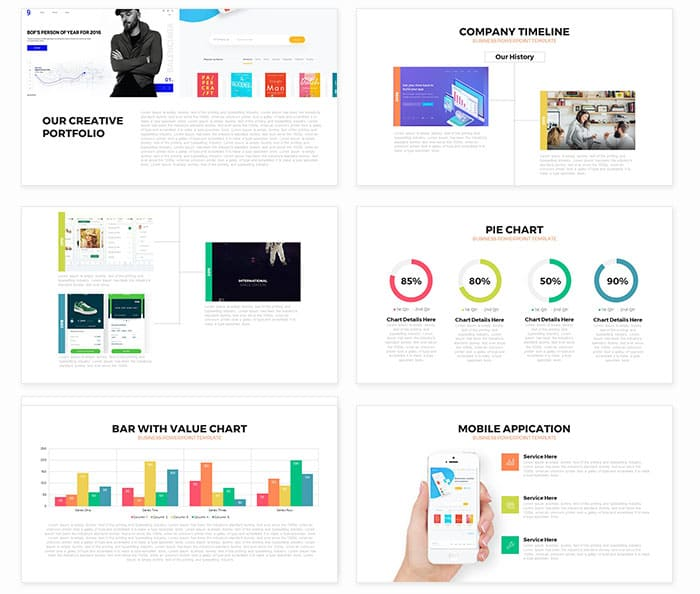 Unity free business powerpoint template slidecompass unity free business powerpoint template toneelgroepblik Images