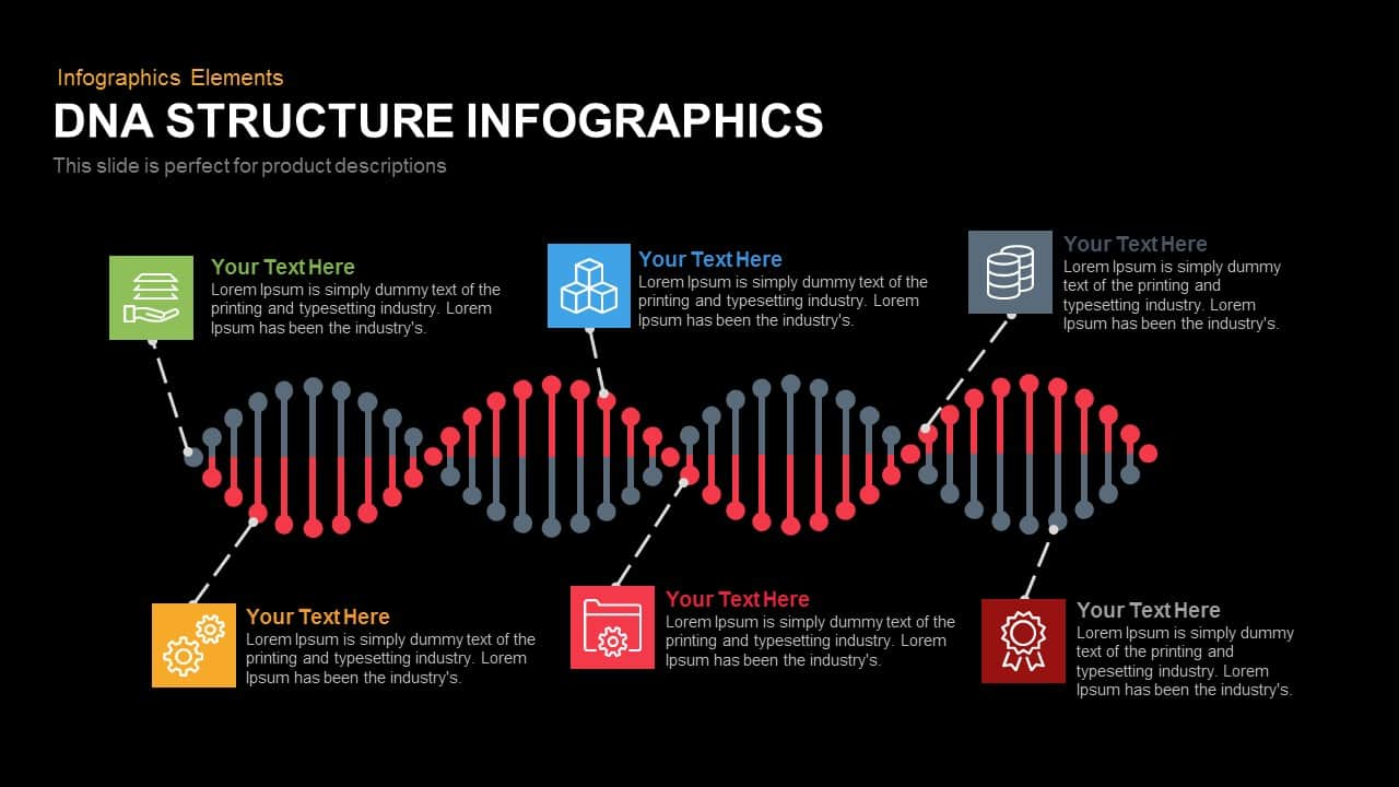 DNA Structure Infographics PowerPoint and Keynote Template ...