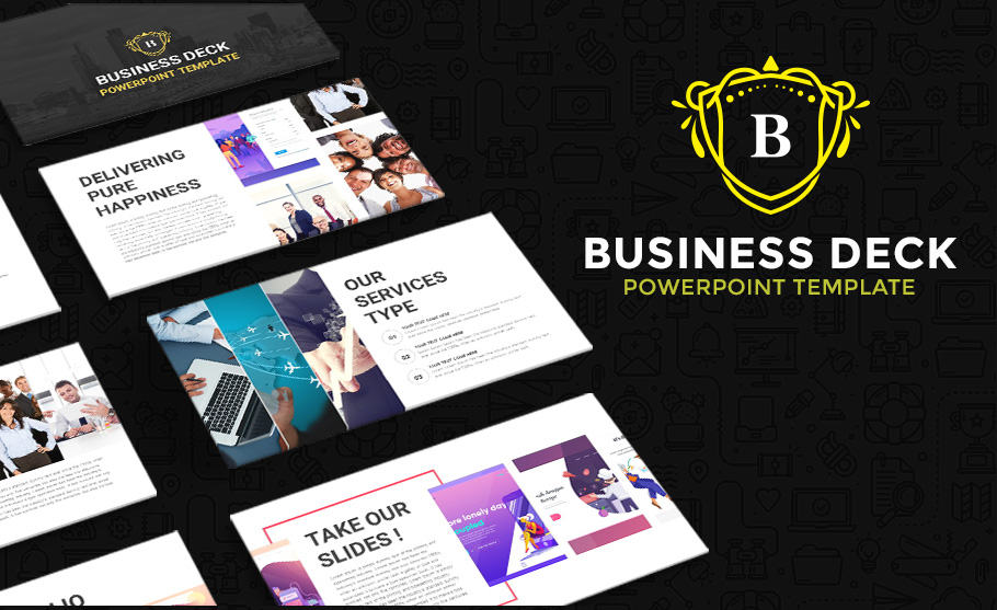 business deck template