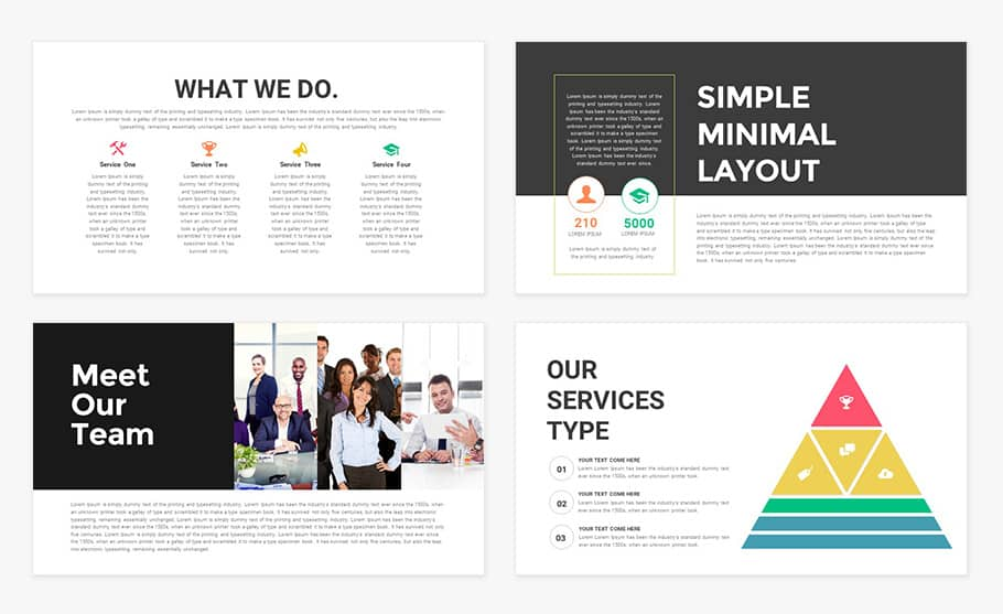 Business Deck Template for PowerPoint