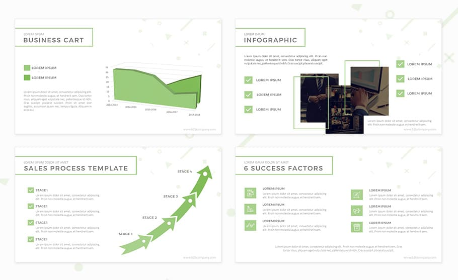 b2b marketing plan template for powerpoint presentation